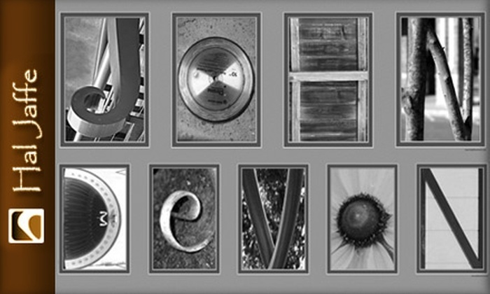 Hal Jaffe Name Art - Memphis: $60 for Three to Eleven Letters of Name Art from Hal Jaffe Name Art ($159.90 Value)