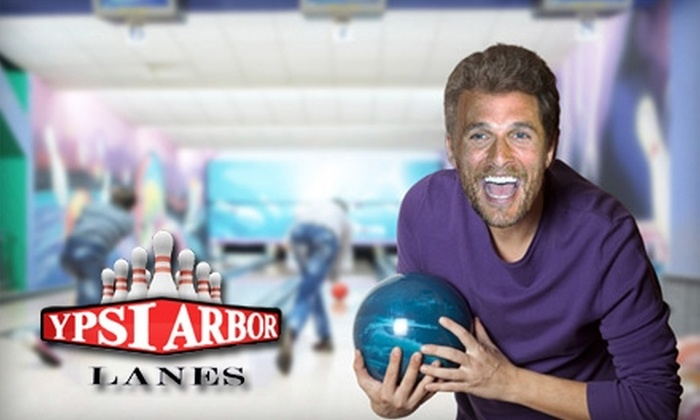 Ypsi Arbor Lanes - Ypsilanti: $5 for Three Games of Bowling and Two Shoe Rentals at Ypsi Arbor Lanes (Up to $16.50 Value) in Ypsilanti
