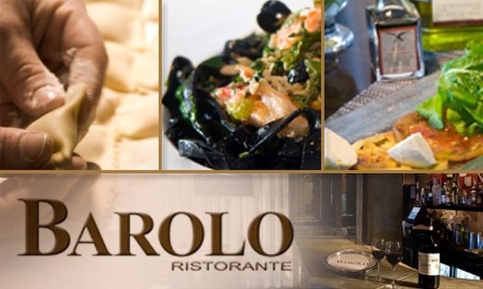 Barolo Ristorante - South Pointe: $20 for $40 Worth of Fine Italian Dining and Drinks at Barolo Ristorante