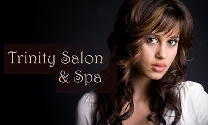 Trinity Salon & Spa - Lakefront: $25 for $50 Worth of Spa and Salon Services at Trinity Salon & Spa