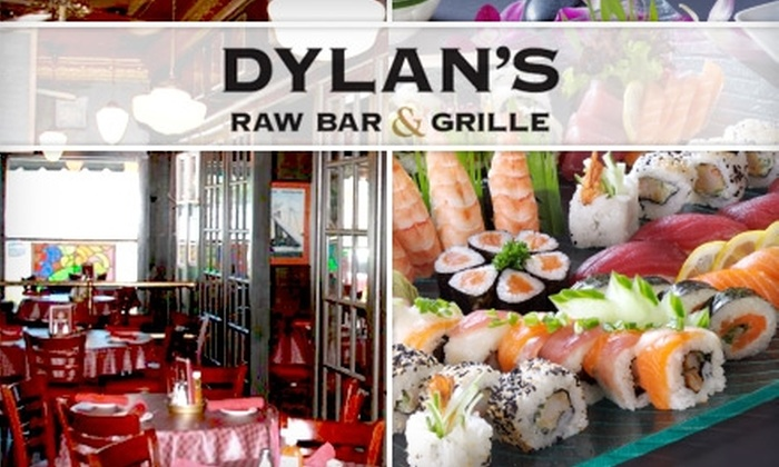 Dylan's Raw Bar & Grille - Grosse Pointe Park: $20 for $45 worth of Sushi, Grilled Eats, and More at Dylan's Raw Bar & Grille
