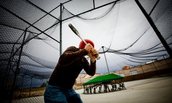 Camelot Park Family Entertainment Center - Riviera/Westchester: Camelot $10 for One Hour of Batting Cages at Camelot Park Family Entertainment Center ($20 Value)
