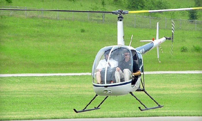 Higher Ground Helicopters - Middletown: Helicopter Demo Flight for One or Helicopter Tour for Two from Higher Ground Helicopters in Middletown (Up to 54% Off)
