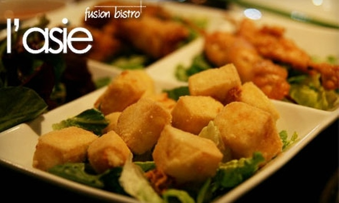 L'Asie Fusion Bistro - Speer: $15 for $30 Worth of Asian-Fusion Fare and Cocktails at L'Asie Fusion Bistro
