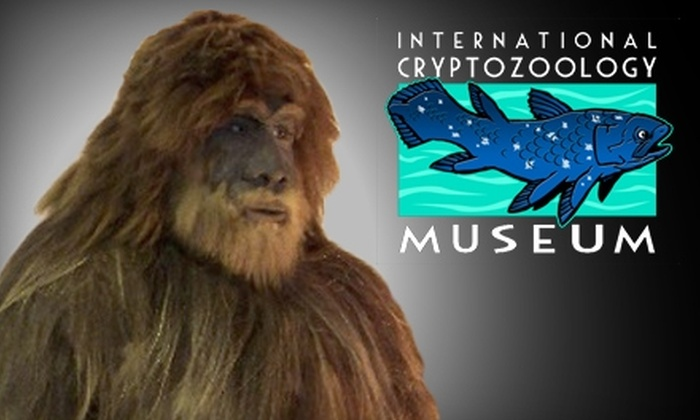 International Cryptozoology Museum - Downtown: $5 for Two Admissions to the International Cryptozoology Museum