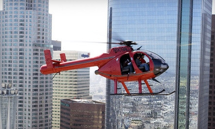 Adventure Helicopter Tours - Arleta: $170 for a 30-Minute Tour of Hollywood and Celebrity Homes for Two from Adventure Helicopter Tours in Pacoima ($490 Value)