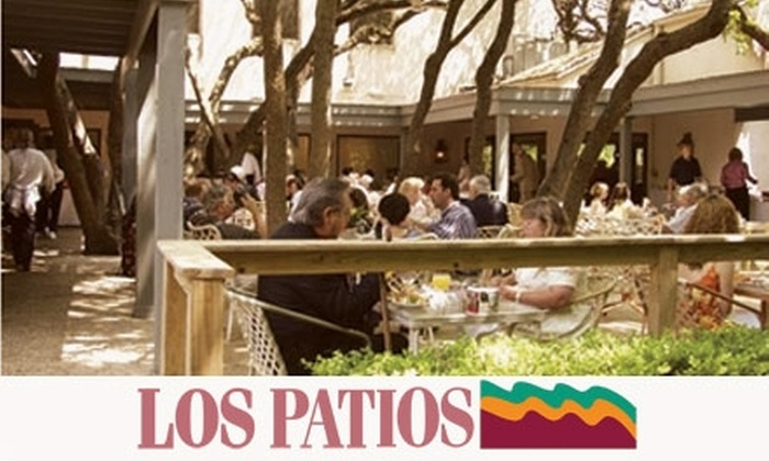 Los Patios - Northeast San Antonio: $12 for $25 Worth of Lunch Fare at The Gazebo at Los Patios