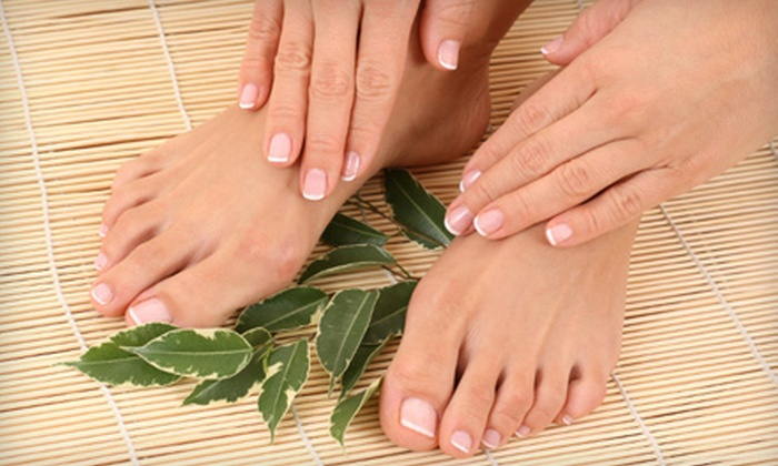 A Cute Spa - North Raleigh: Classic, Signature, Chocolate, or Pumpkin-Spice Manicure and Pedicure at A Cute Spa (Up to 58% Off)
