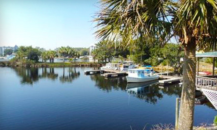 Overnight Boating Trips with Cabin Stay for Two to Ten People at Shelter Cove Marina in Steinhatchee (Up to 57% Off)