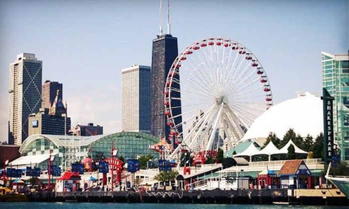 Navy Pier - Festival Hall At Navy Pier: Rides and Attractions for Two, Four, or Six at Navy Pier (Half Off)