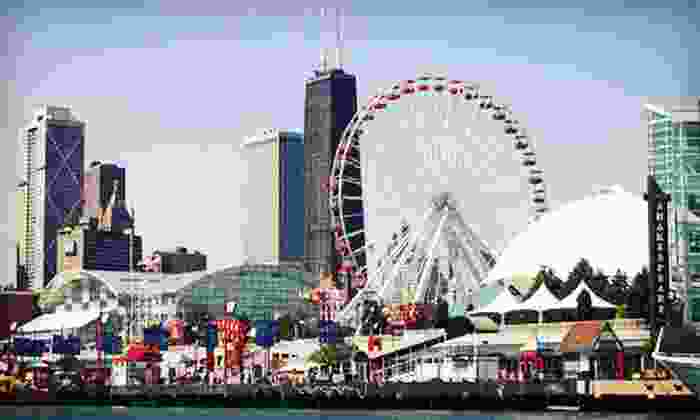 Navy Pier - Amazing Chicago's Funhouse Maze at Navy Pier: Rides and Attractions for Two, Four, or Six at Navy Pier (Half Off)