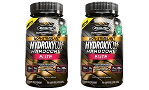Buy 1 Get 1 Free: Non-Stimulant Hydroxycut Hardcore Elite Supplements