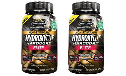 Buy 1 Get 1 Free: Non-Stimulant Hydroxycut Hardcore Elite Supplements