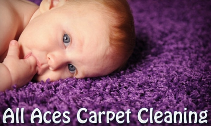 All Aces Carpet Cleaning - Miramonte: $65 for a Whole-House Carpet Cleaning from All Aces Carpet Cleaning