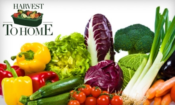 Harvest To Home - Orange County: $25 for a Garden Delivered to Your Door from Harvest to Home ($55 Value)