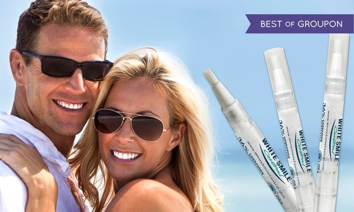 White Smile Central: $15 for Three Teeth-Whitening Pens from White Smile Central ($89.85 Value)