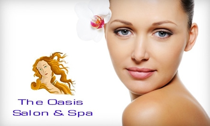 The Oasis Salon & Spa - Springfield: $50 for Two Infrared Body Wraps, Two Galvanic Spa Treatments, and an Evaluation at The Oasis Salon & Spa ($208 Value) in Springfield