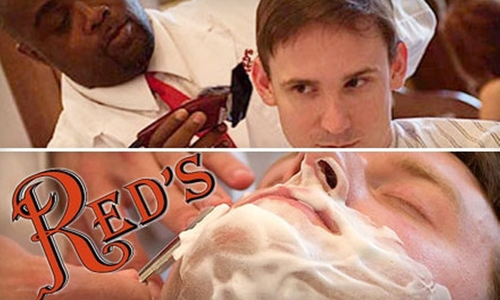 Red's Classic Barber Shop Co. - Downtown Nashville: $18 for Two Classic Cuts with Famous Razor-Finish at Red's Classic Barber Shop Co. ($40 Value)