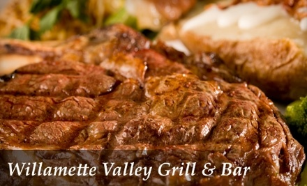 $50 Groupon to Willamette Valley Grill & Bar - Willamette Valley Grill & Bar in Salem