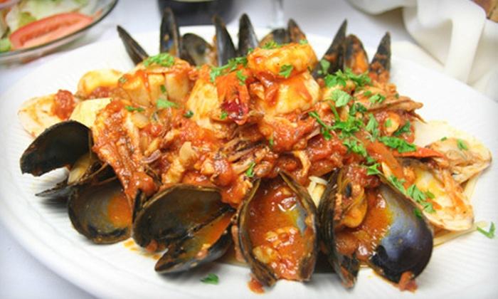 Cucina Toscana - Northwest Nashua: Italian Dinner Cuisine at Cucina Toscana in Nashua (Half Off). Two Options Available.