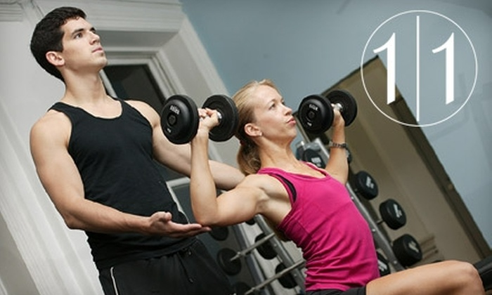 one 2 one New York Gym - SoHo: $29 for One-Hour Personal Training Session at One 2 One New York Gym in SoHo ($60 Value)