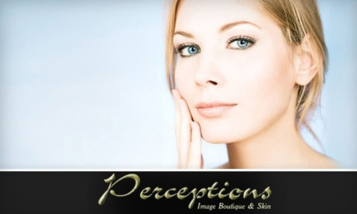 Perceptions Image Boutique & Skin - Multiple Locations: $49 for a Microdermabrasion or Chemical Peel at Perceptions Image Boutique & Skin in Fair Oaks (Up to $125 Value)