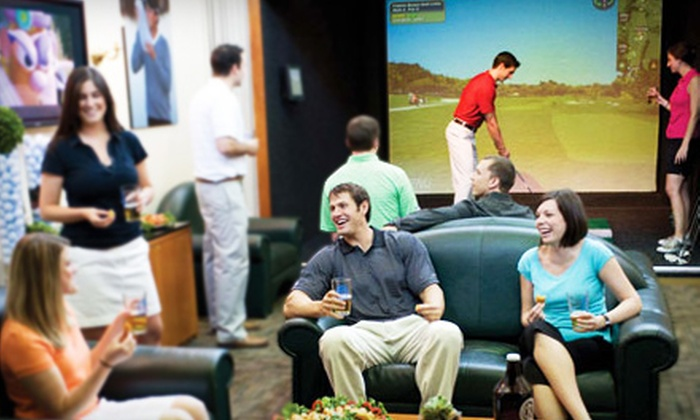 Golf Club At Chelsea Piers - Multiple Locations: $49 for a Golf-Simulator Package for Up to Four People at The Golf Club at Chelsea Piers ($110 Value)