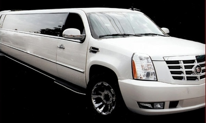 U.S. Limousine Service - New Hyde Park: $50 for $100 Worth of Luxury Transportation from U.S. Limousine Service