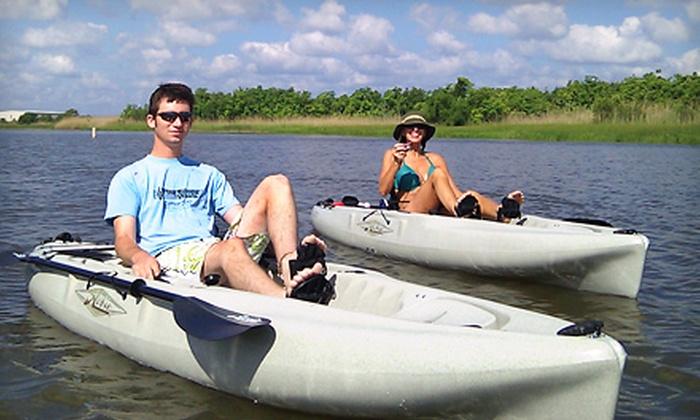 Alabama Coastal Outdoors - Spanish Fort: Kayaking Eco Tour for Three or Four from Alabama Coastal Outdoors (Half Off)