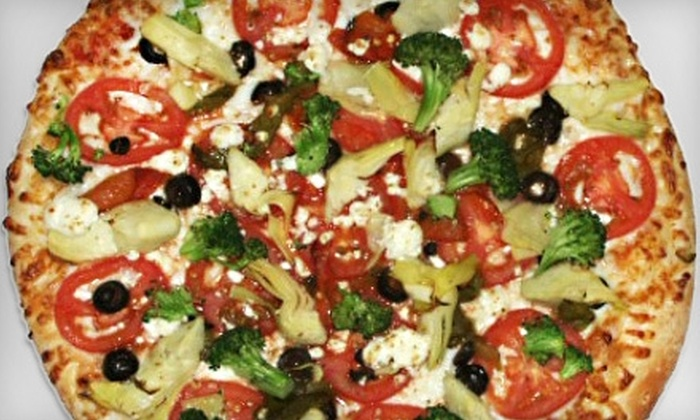 Red Rock Pizza - Summerlin: $12 for $25 Worth of Handmade Pizza, Wings, and More at Red Rock Pizza