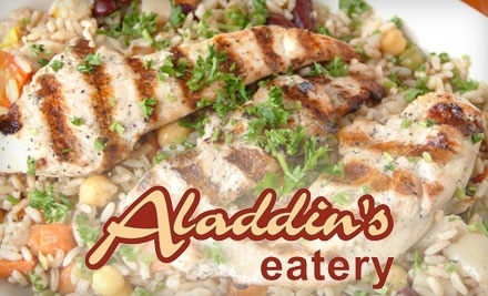 $20 Groupon to Aladdin's Eatery - Aladdin's Eatery in West Chester Township