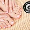 Half Off Mani-Pedi at June's Spa