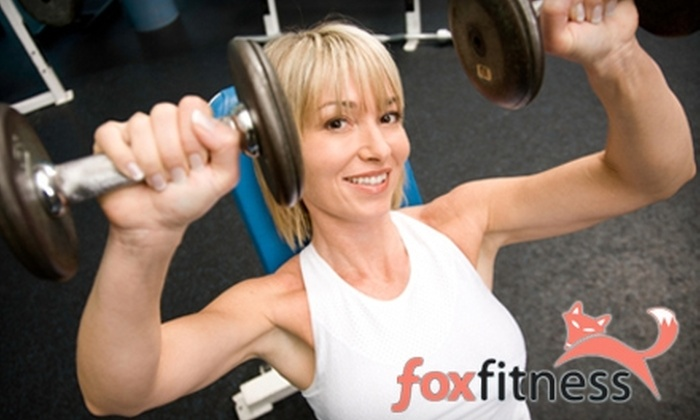 Fox Fitness - Knoxville: $50 for One Month of Unlimited Get Foxy Boot-Camp Classes at Fox Fitness