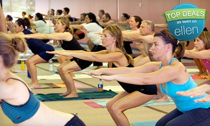 Bikram Yoga San Antonio - Multiple Locations: $39 for a 10-Class Pass to Bikram Yoga San Antonio (Up to $120 Value)