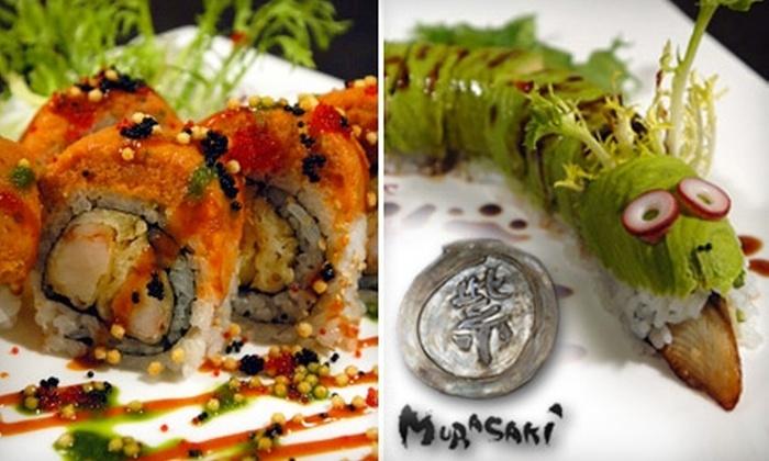 Murasaki Japanese Restaurant - AU Park - Friendship Heights - Tenley: $20 for $40 Worth of Pan-Asian Cuisine at Murasaki Japanese Restaurant