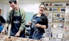 Lux Center for the Arts - University Place: $25 for a BYOB Date-Night Art-making Class for Two at Lux Center for the Arts ($50 Value)