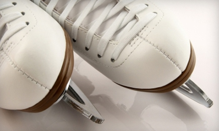Swonder Ice Arena - Evansville: Admission and Ice-Skate Rentals at Swonder Ice Arena. Two Options Available.