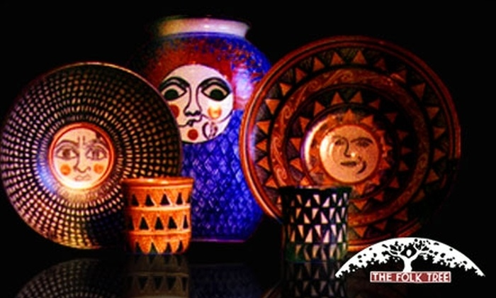 The Folk Tree - South Arroyo: $25 for $50 Worth of Folk Arts and Crafts at The Folk Tree