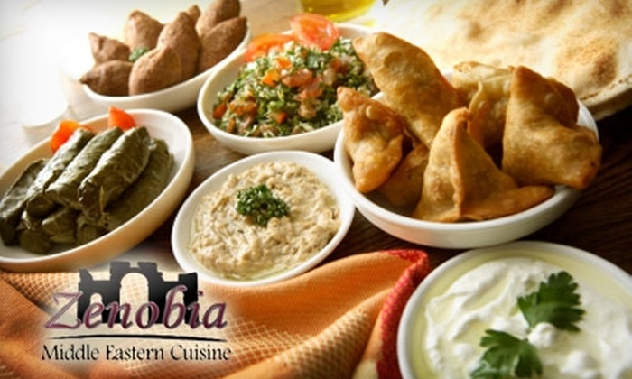 Zenobia - Canfield: $6 for $12 Worth of Middle Eastern Cuisine at Zenobia