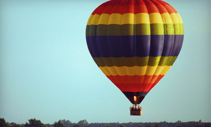 Stillwater Balloon - Lakeland Shores: $399 for a Private, Sunrise or Afternoon Hot Air Balloon Experience for Two from Stillwater Balloon in Lakeland ($735 Value)