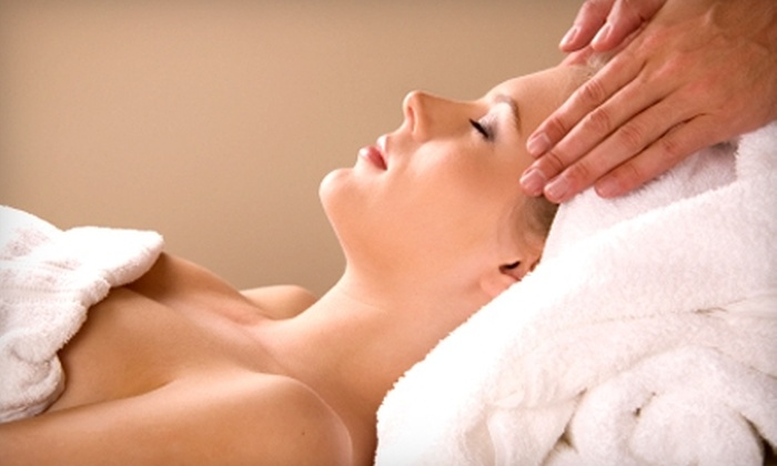 The Face & Body Spa  - Yardley: $125 for Spa Element Massage and Facial with Haircut, Color, and Style at The Face & Body Spa in Yardley (Up to $370 Value)