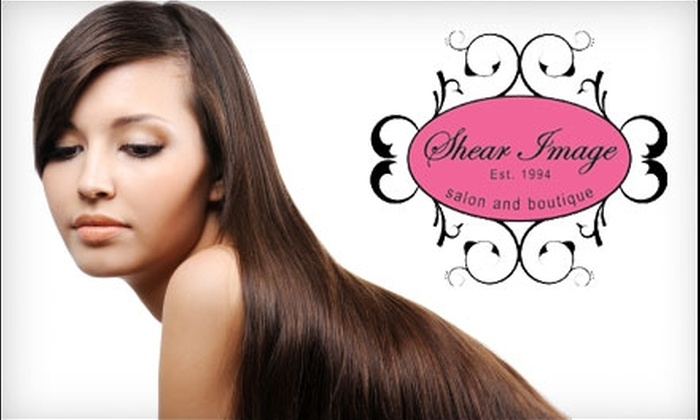 Shear Image Salon and Boutique - Richmond: $30 for $60 Worth of Hair Services at Shear Image Salon and Boutique, Plus 20% Off Any One Item at the Boutique