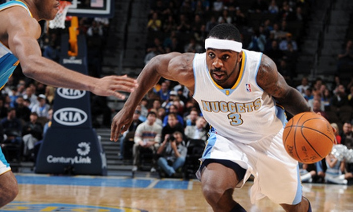 Denver Nuggets - Denver: Upper- or Lower-Level Basketball-Game Outing for Two to See Denver Nuggets on February 14 (Up to 61% Off)
