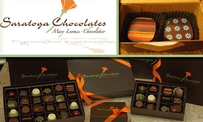 Saratoga Chocolates - Castro: $15 for $30 Worth of Sweet Morsels at Saratoga Chocolates