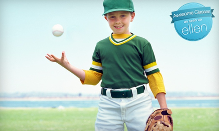 Lionheart Fitness Kids - Multiple Locations: $60 for Five Kids' Sports Classes at Lionheart Fitness Kids ($125 Value)