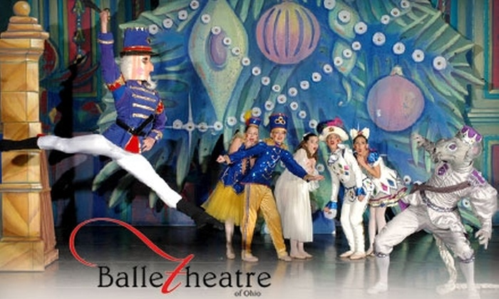 """Ballet Theatre of Ohio - Downtown: Tickets to """"The Nutcracker"""" by Ballet Theatre of Ohio. Choose Between Two Seating Options."""