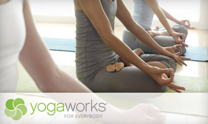 YogaWorks - Multiple Locations: Unlimited Yoga Classes at Any YogaWorks Location. Choose From Two Options.