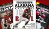 """Touchdown Alabama: $20 for a Seven-Issue Gold Membership to """"Touchdown Alabama Magazine"""""""