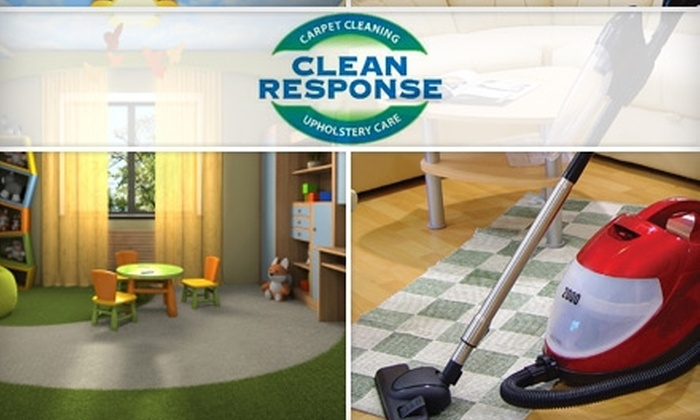 Clean Response LLC - Colorado Springs: $39 for a Two-Room Carpet Clean and Area Rug Clean from Clean Response LLC (Up to $115 Value)