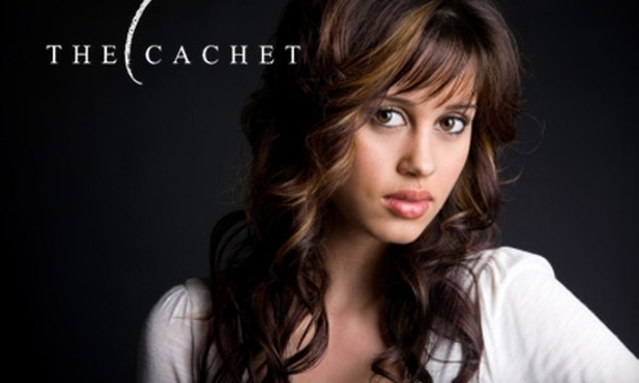 The Cachet Salon - Worthington Hills: $20 for $40 Worth of Salon Services at The Cachet Salon
